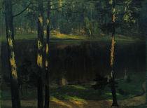 W.Leistikow, Einsamer Waldteich von AKG  Images