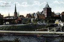 Luebeck, Burgtor / Photochrom by AKG  Images