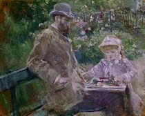 B. Morisot/Eugene Manet und Tochter/1881 by AKG  Images