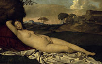 Giorgione, Ruhende Venus by AKG  Images