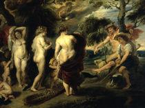P.P.Rubens, Urteil des Paris / Kopie by AKG  Images