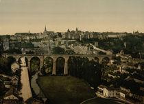 Luxemburg, Stadtansicht / Foto von AKG  Images