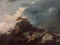 Fragonard, Das Gewitter/ um 1765 by AKG  Images