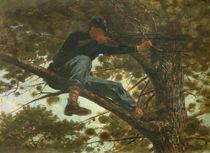 Winslow Homer, Scharfschuetze / 1863 by AKG  Images