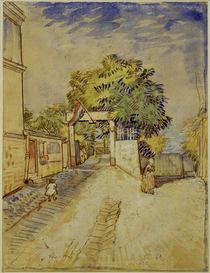 V.v.Gogh, Eingang Moulin de la Galette by AKG  Images