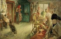 C.Larsson, Das Winterhaus von AKG  Images