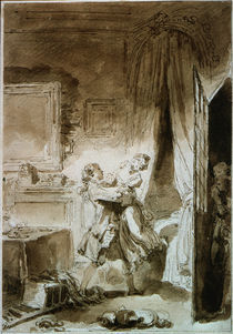 J.H.Fragonard, L'oraison de St.Julien by AKG  Images