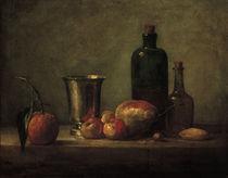 J.B.S.Chardin, Stillleben mit Bigaradie von AKG  Images