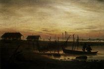 C.D.Friedrich/Kuestenlandsch. Abend 1815 von AKG  Images
