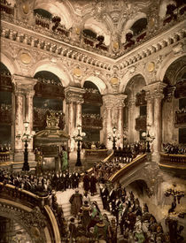 Paris, Opera, Einweihung / Photochrom by AKG  Images