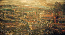 Seeschlacht bei Lepanto 1571 / Tintorett by AKG  Images
