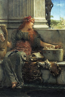 L.Alma Tadema, Poesie by AKG  Images