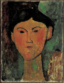 Beatrice Hastings / Gem.v.Modigliani by AKG  Images