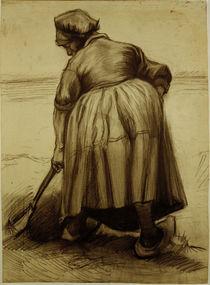 V.van Gogh, Baeuerin beim Graben von AKG  Images