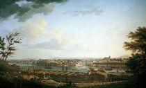 Bayonne, Ansicht / Gem.v.J.Vernet von AKG  Images