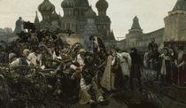 Peter der Grosse/Strelitzen/Surikow 1879 von AKG  Images