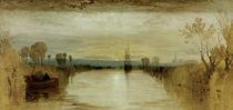 W.Turner, Chichester Canal von AKG  Images