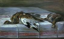 A.Renoir, Stilleben mit Fasan u.Rebhuhn von AKG  Images