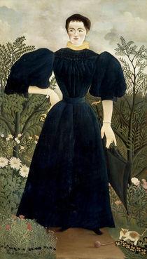 Rousseau,H./ Portrait de femme/ 1895-97 by AKG  Images