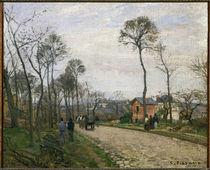 C.Pissarro, La route de Louveciennes by AKG  Images