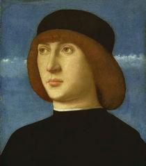 G.Bellini, Bildnis eines jungen Mannes von AKG  Images