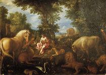 Jan Brueghel d.Ae., Orpheus und die Tiere by AKG  Images