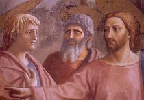 Masaccio, Der Zinsgroschen, Ausschnitt by AKG  Images