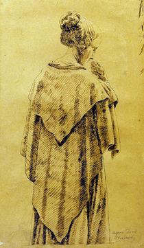 C.D.Friedrich, Frau im Umschlagtuch by AKG  Images