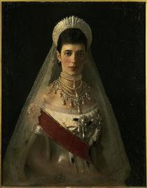 Kaiserin Maria Feodorowna / Kramskoi by AKG  Images