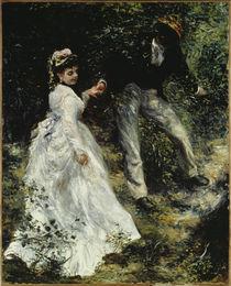 A.Renoir / La Promenade/ 1870 von AKG  Images