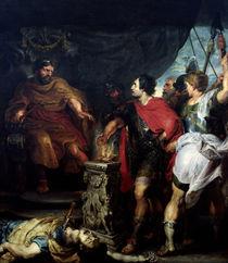Rubens und van Dyck, Mucius Scaevola von AKG  Images