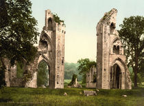 Glastonbury Abbey / Photochrom by AKG  Images