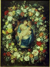 J.Bruegel d.Ae.u.Procaccini,Blumenkranz.. by AKG  Images