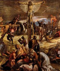 Tintoretto, Kreuzigung, Ausschnitt by AKG  Images
