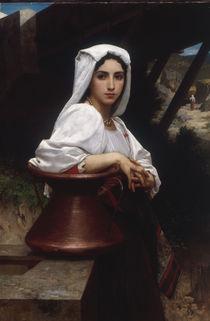 W.A.Bouguereau, Italienerin beim Wasser. by AKG  Images