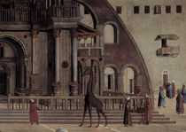 G.Bellini, Predigt Markus, Ausschnitt by AKG  Images