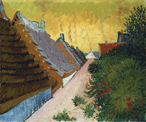 van Gogh, Gasse in Saintes Maries   von AKG  Images