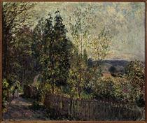 Alfred Sisley/ Waldweg/ 1878 von AKG  Images