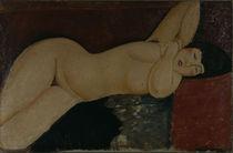 A.Modigliani, Schlafender Akt von AKG  Images
