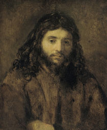 Rembrandt, Christuskopf by AKG  Images