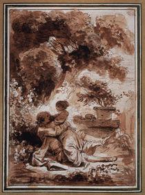 J.H.Fragonard, La servante justifiee von AKG  Images