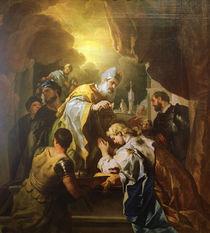 L.Giordano,Salomo wird zum Koenig gesalbt von AKG  Images