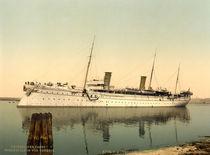 Jacht Hohenzollern v. Venedig/Photochrom von AKG  Images