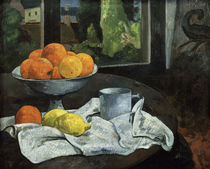 Gauguin, Oranges et citrons avec vue... by AKG  Images