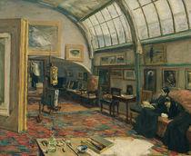 M.Liebermann, Atelier des Kuenstlers by AKG  Images