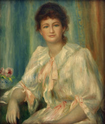A.Renoir, Portraet einer jungen Frau by AKG  Images