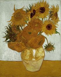 V.van Gogh, Zwoelf Sonnenblumen in Vase von AKG  Images