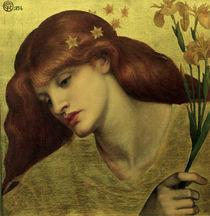 D.G.Rossetti, Sancta Lilias von AKG  Images