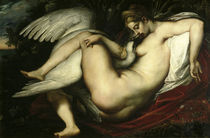 P.P.Rubens, Leda mit dem Schwan by AKG  Images