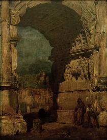 F.v.Lenbach, Der Titusbogen in Rom von AKG  Images